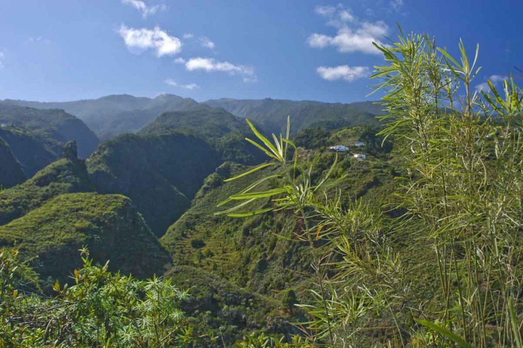 noreste de La Palma para el senderismo