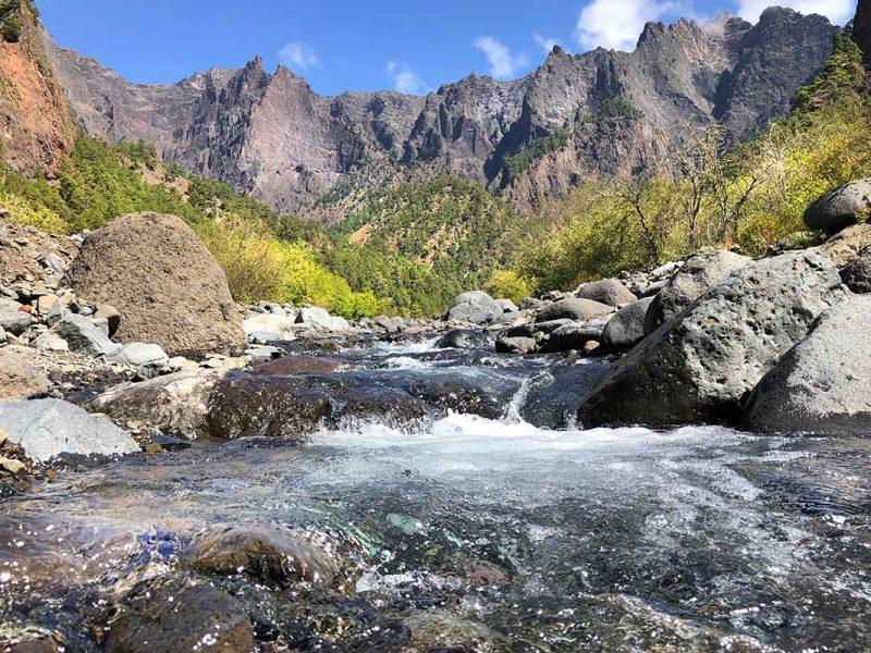 Caldera de Taburiente en La Palma - Parque nacional