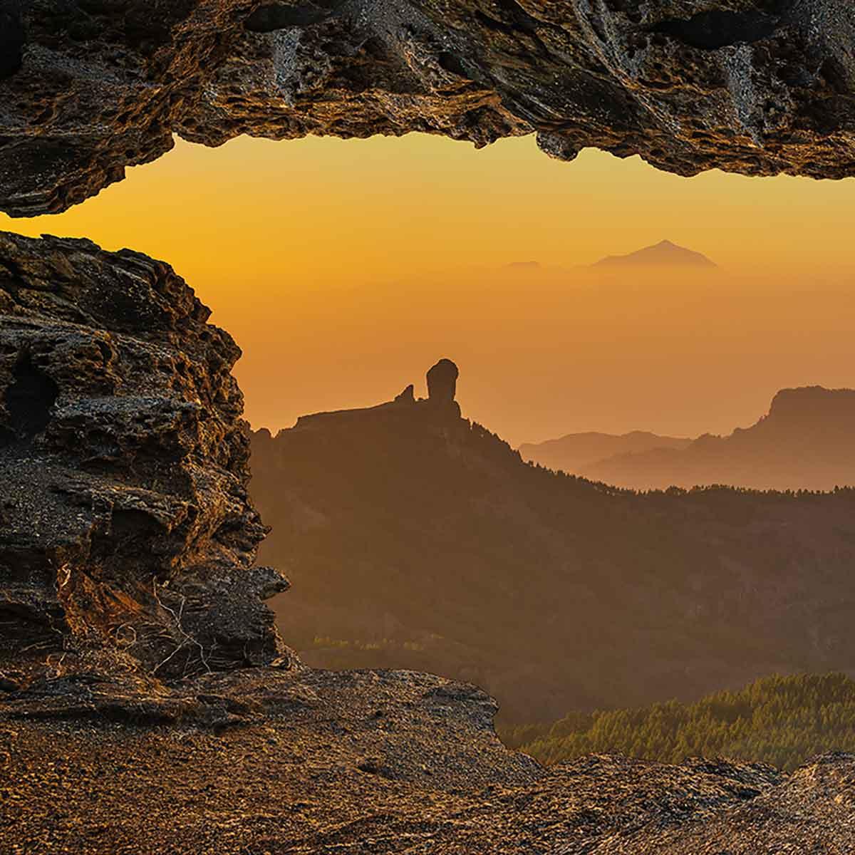 Gran Canaria con Roque Nublo y Tenerife Senderismo autoguiado