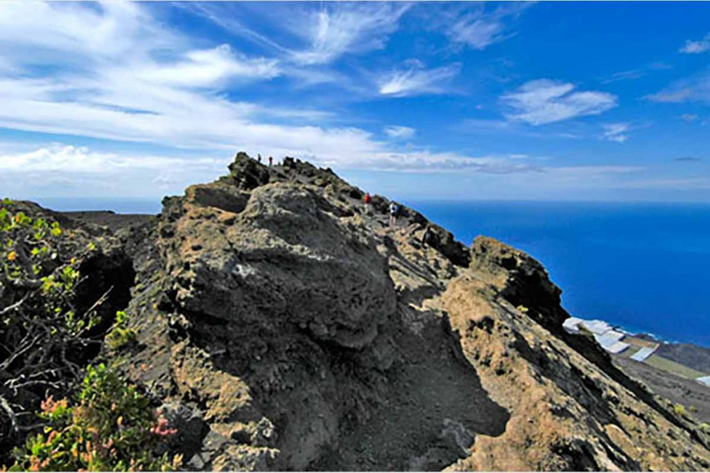 Volcan San Antonio en Fuencaliente La Palma