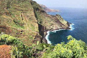GR130 desde El Tablado hacia Franceses en La Palma