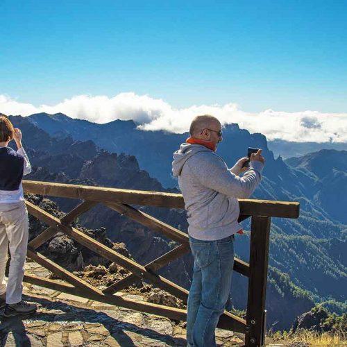 Mirador los Andenes Caldera de Taburiente La Palma