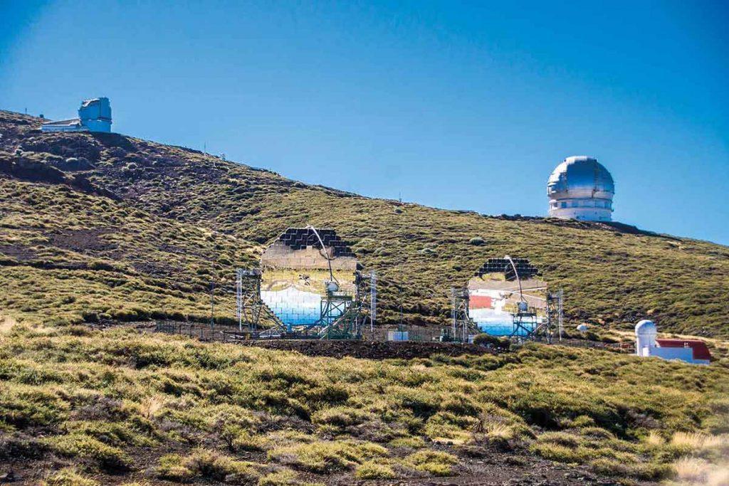 Observatorios del Roque de los Muchachos La Palma
