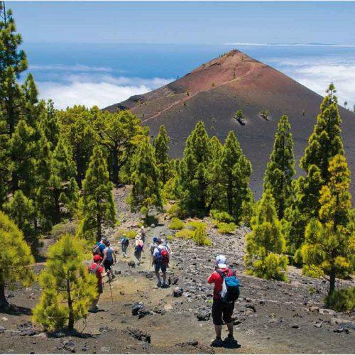 Senderismo la Palma ruta de los Volcanes