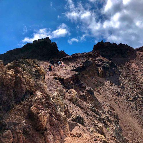 Volcano Teneguía onLa Palma GR131