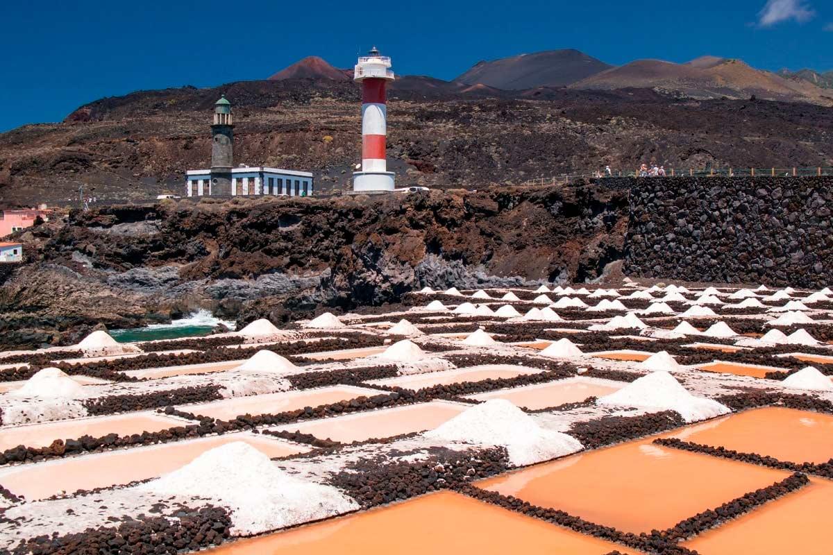 senderismo independiente de hotel a hotel en La Palma con traslado organizado de equipaje