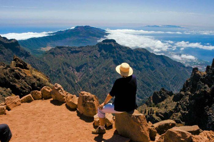 Rutas de senderismo en La Palma por el Roque de Los Muchachos