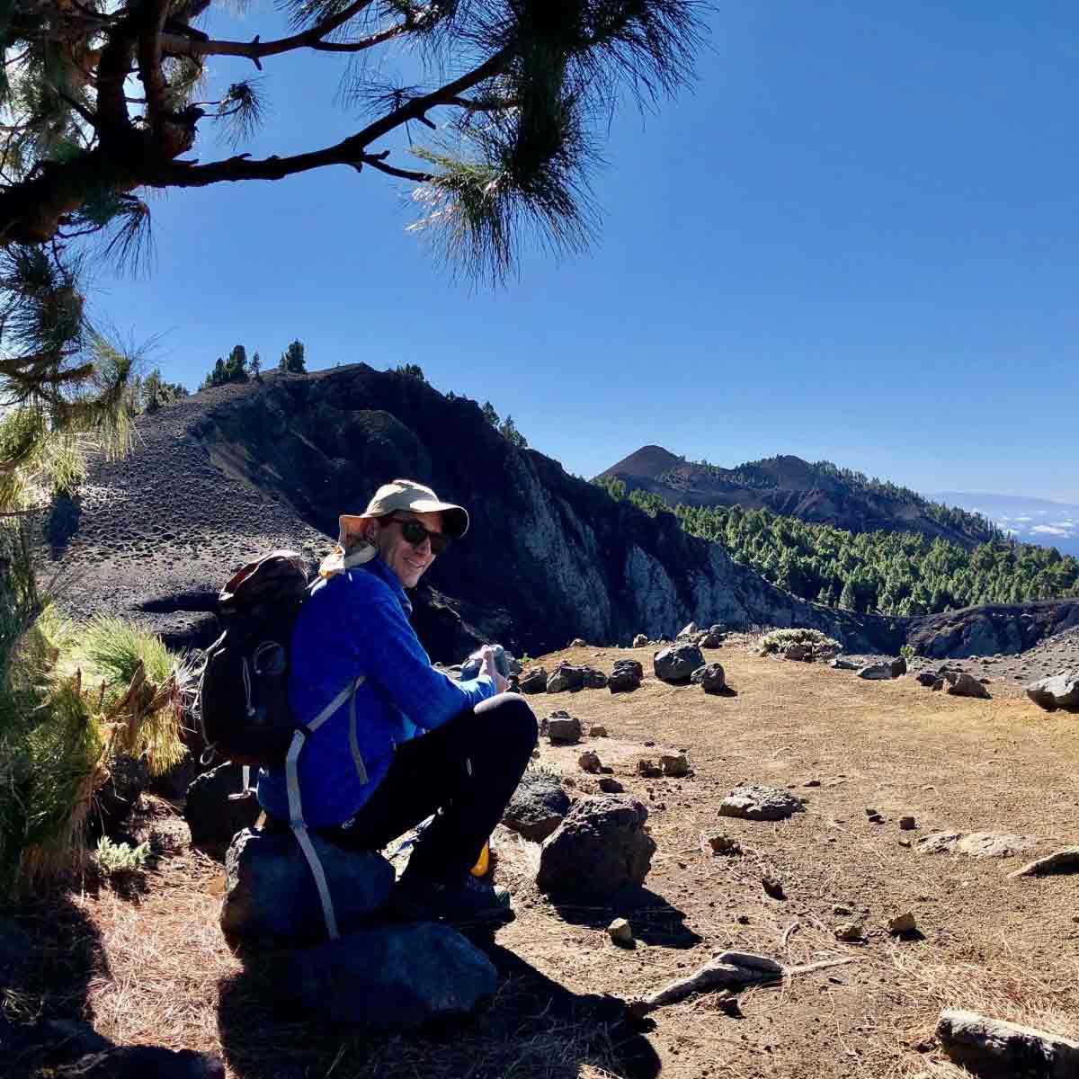 La Palma Ruta de Los Volcanes GR131 hasta Fuencaliente