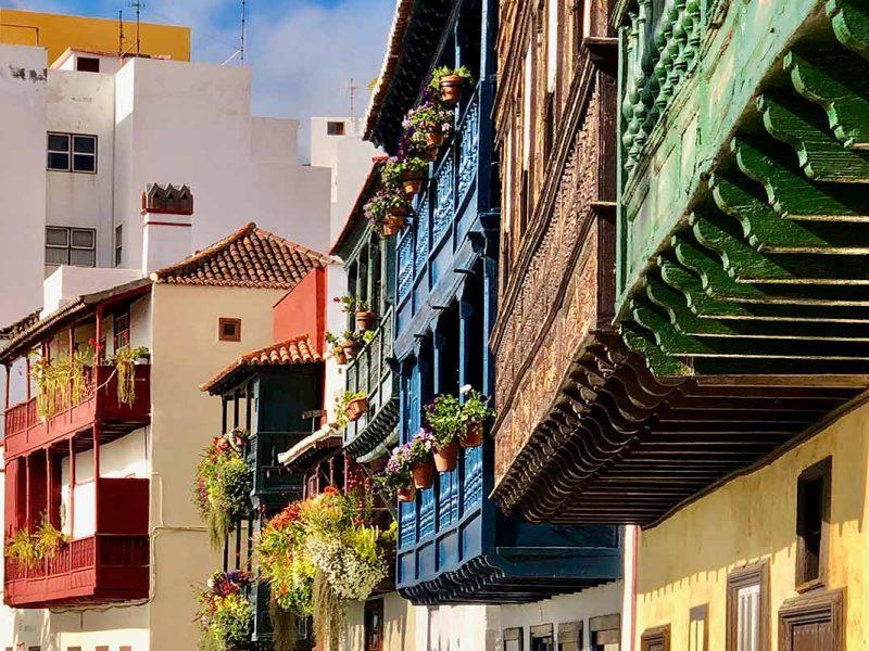 Santa Cruz - Casas de los Balcones